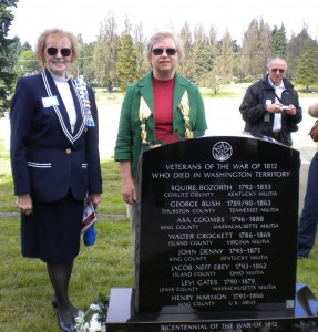 1812 Marker Dedication